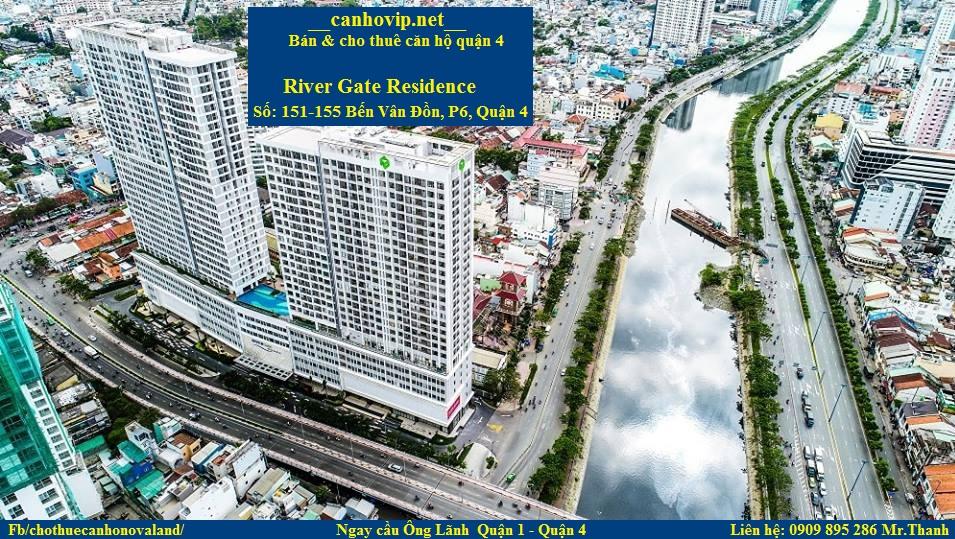 Chuyên cho thuê căn hộ River Gate Residece quận 4