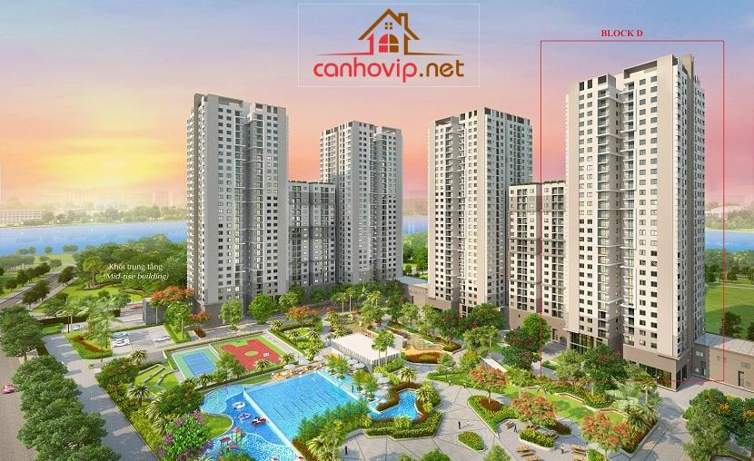 Phối cảnh căn hộ Saigon South Residences