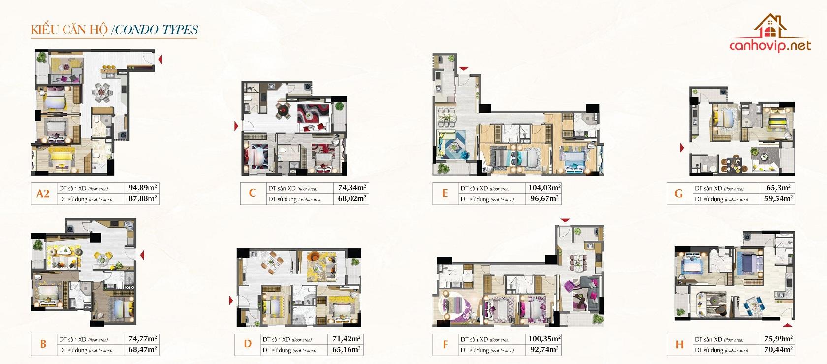 Thiết kế căn hộ Saigon South Residences SSR PMH
