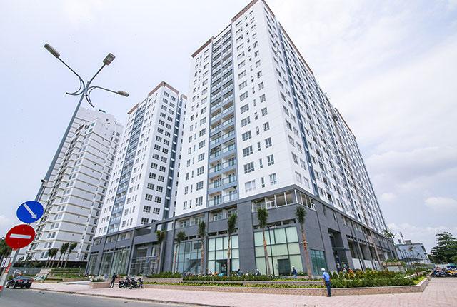 Toàn cảnh căn hộ chung cư Florita Q7