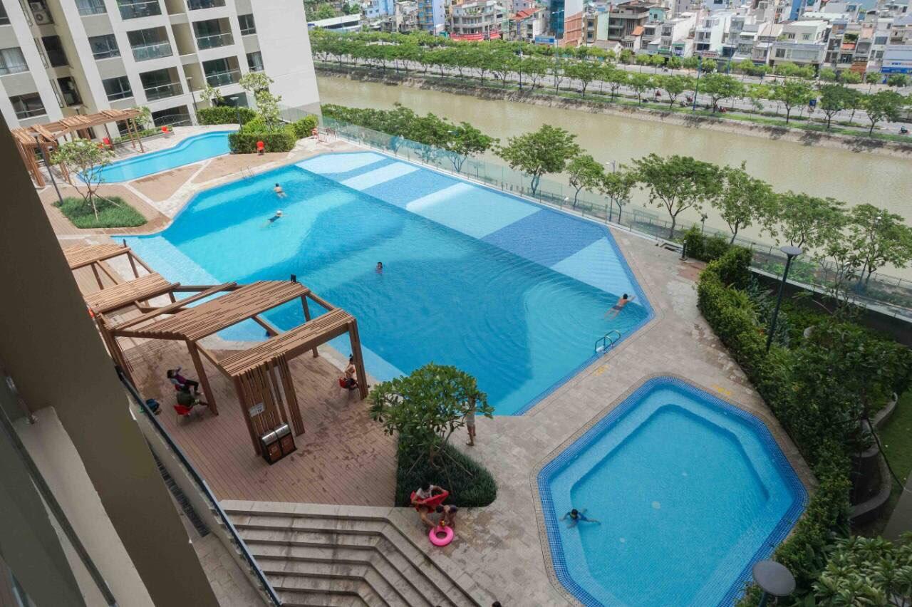 Tiện ích hồ bơi Gold View quận 4