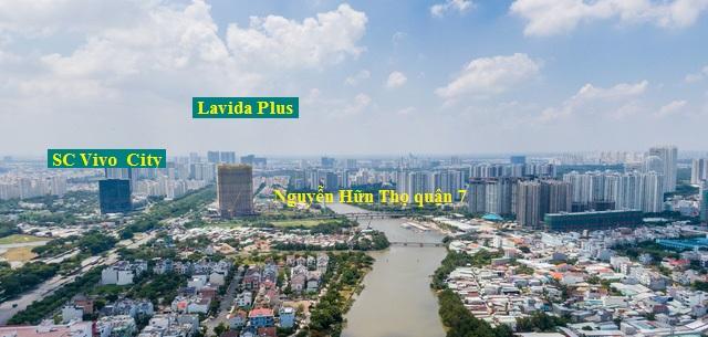 View nhìn 360 độ tại Lavida Plus quận 7