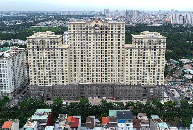 Toàn cảnh Saigon Mia nhìn từ trên cao