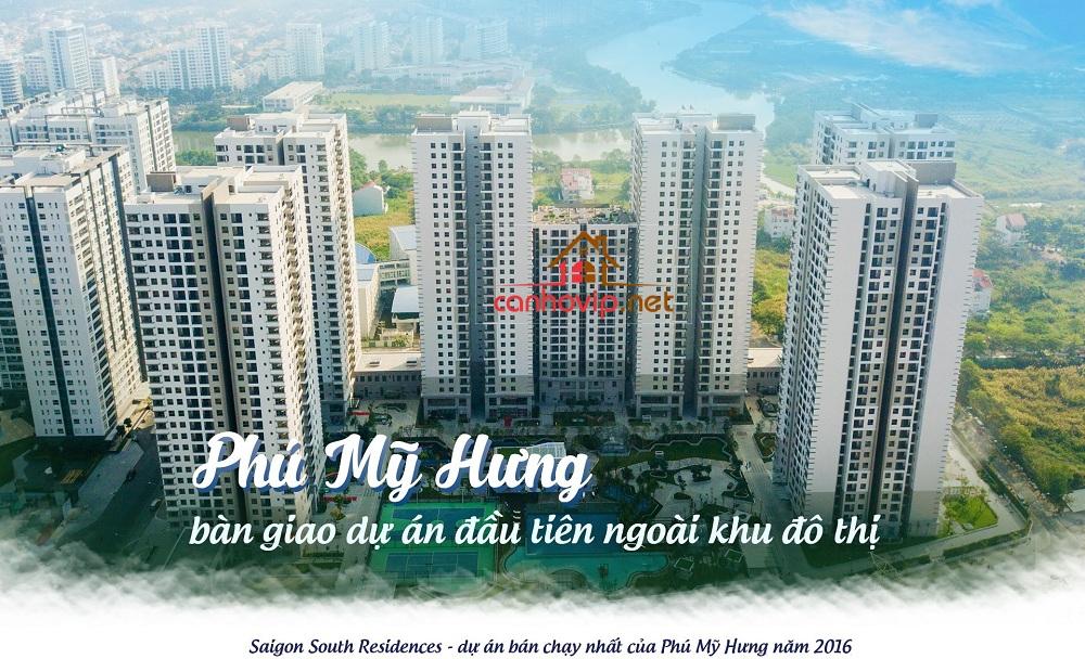 Khu căn hộ chung cư Saigon South Residence - SSR