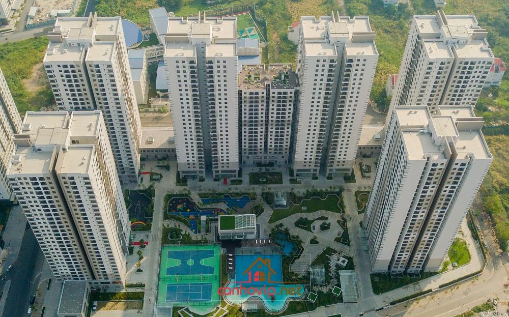 Toàn cảnh khu căn hộ chung cư Saigon South Residences mới nhất