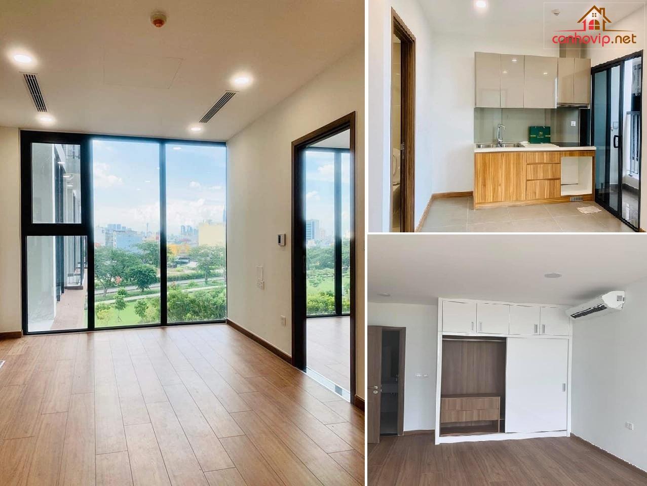 Hiện trạng căn hộ thuê Eco Green còn mới 100%